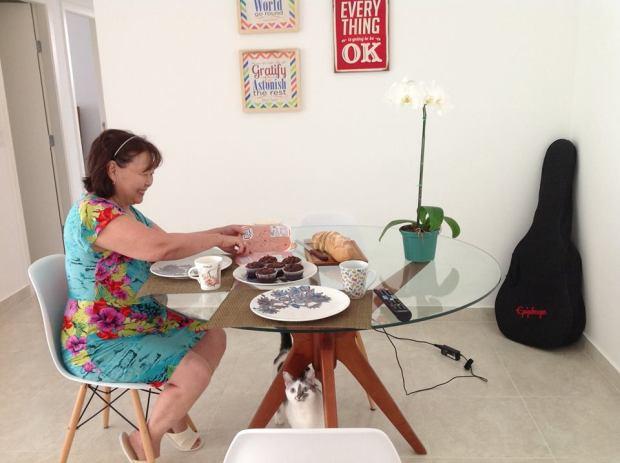 sala de jantar - mãe