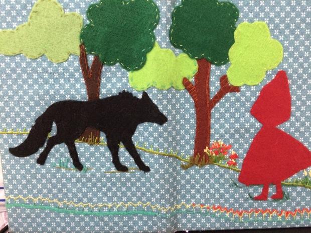 Little Red Riding Hood por Andrea Spoljaric.