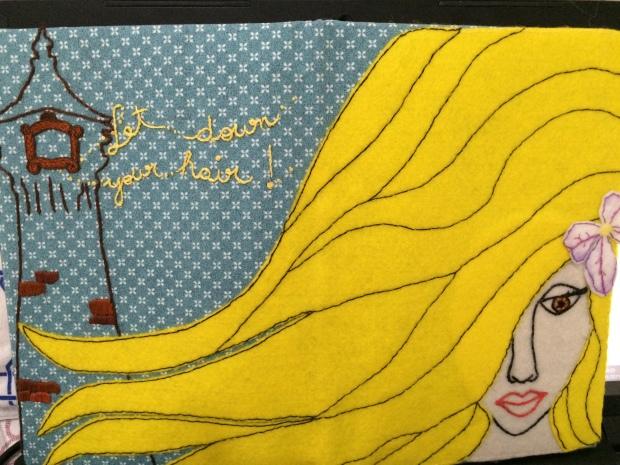 Rapunzel por Andrea Spoljaric.