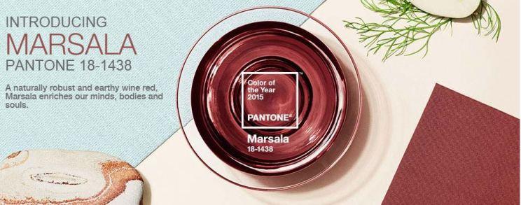 """Pantone """"Marsala"""" - a cor eleita para 2015"""