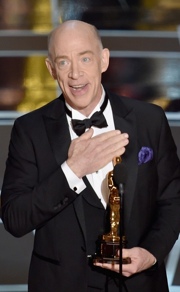 J.K. Simmons - best supporting actor