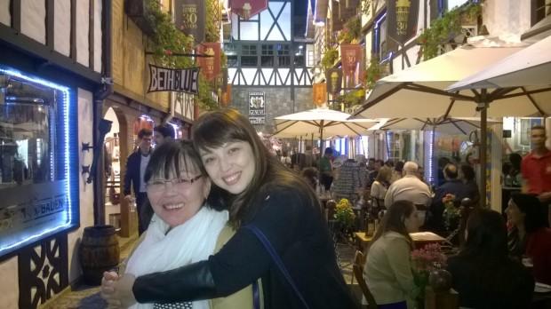 mamae e eu