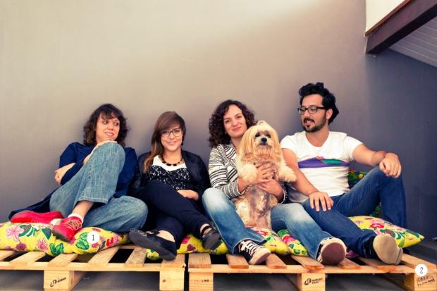 Casa Aberta- pallet com futon