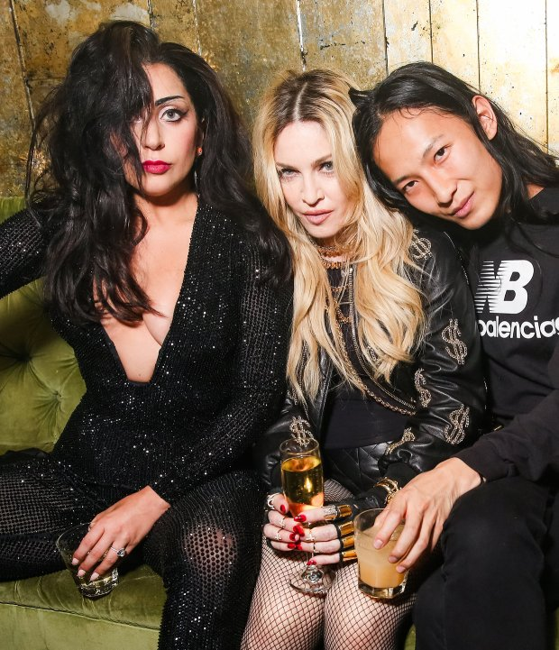 Lady Gaga, Madonna e Alexander Wang.